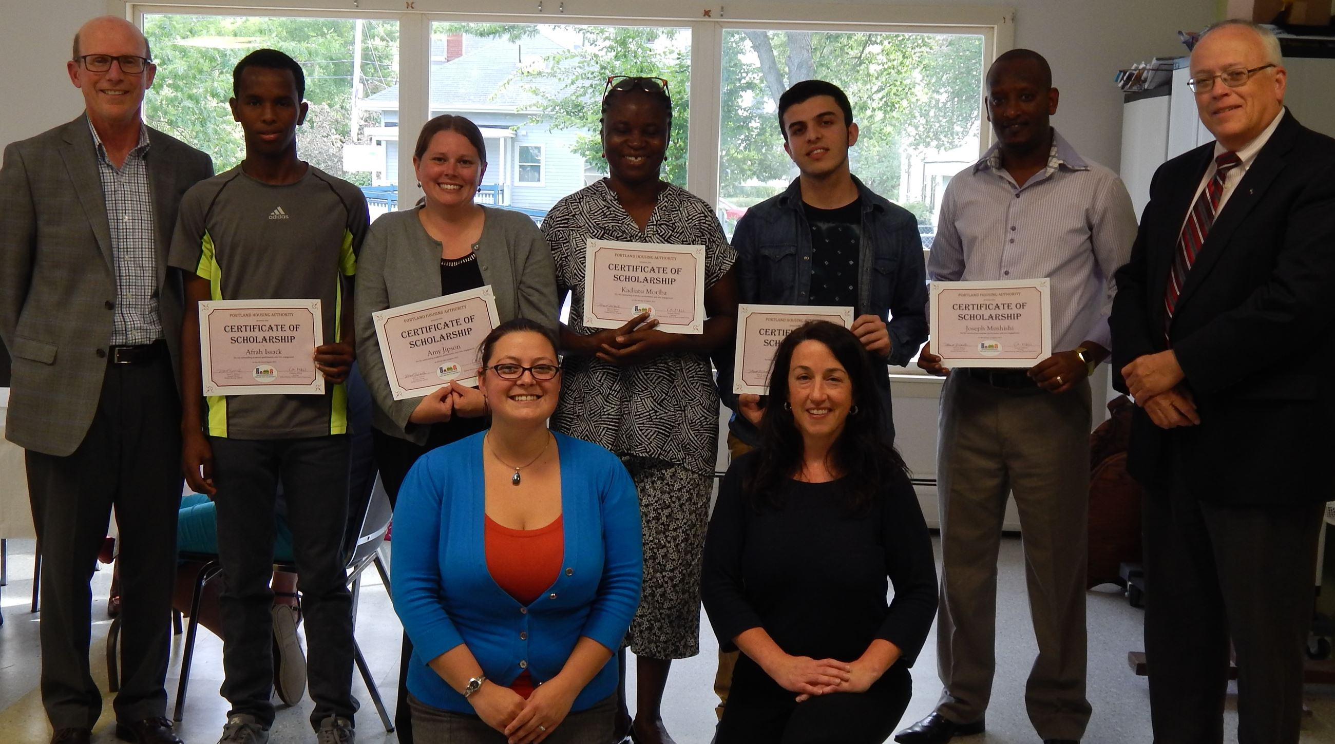 2015 PHA Scholarship awardees and the selection committee members