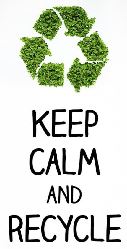 Keep Calm Recycle