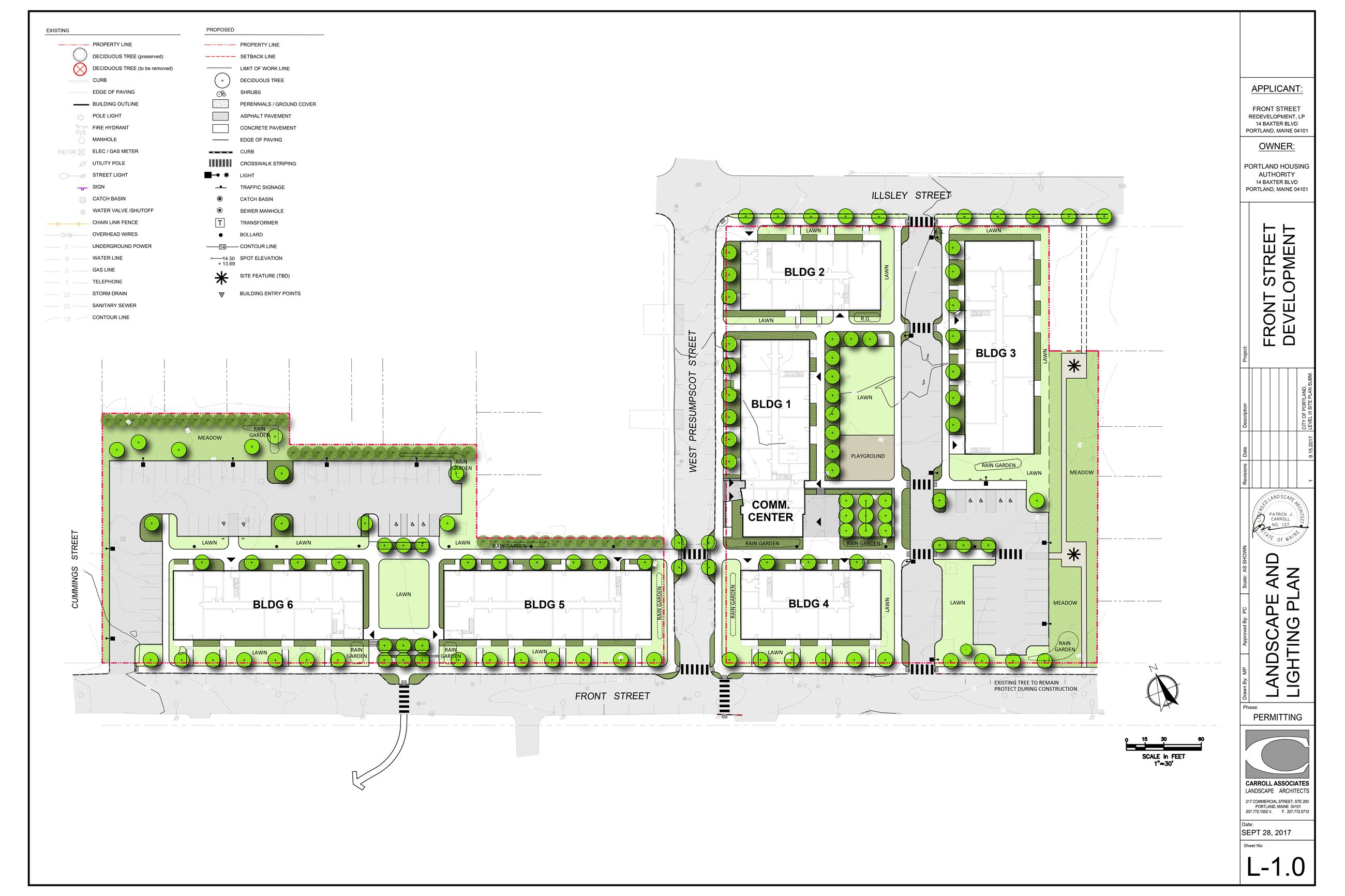 Front Street Rendered Plan